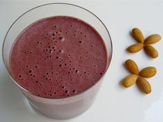 Cherry Cinnamon SmoothieLooking for cherry smoothies and vitamix smoothie recipes? This one if delicious and loaded with protein, fibre and vitamins!