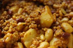 Cholent is the archetypical Shabbos stew, the Jewish answer to the French cassoulet except that cholent is cooked over night in a crock pot ...