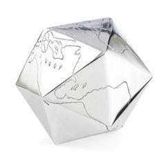 Globino Paperweight Chrome, 50€, now featured on Fab.