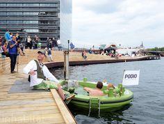Copenhagen - floating hot tub / new boardwalk