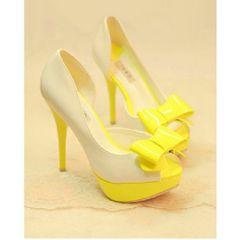 Cute Open Toe High Heel