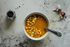 It's a little sweet and offers a little spicy bite. Perfect for wrapping your hands around a large mug of it while watching the snow dance to the ground. Snow Dance, Spicy Bite, Chana Masala, Instant Pot, Wrapping, Soup, Pumpkin, Hands, Ethnic Recipes