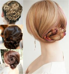 easy and simple updo for girls by clip in 18 inch cheap hair extensions