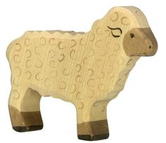 Holztiger Wooden Sheep