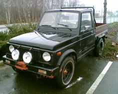 Suzuki sj413 pickup in norway