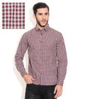 Celio Purple Casual Shirt