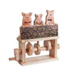 Sean de schapen collectie de drie varkens