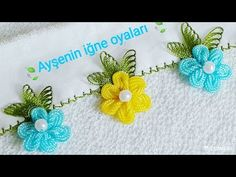 Ein perfektes Stickmuster aus Wasserstein – Ayse'nin Sedef Sandigi – Join the world of pin Creative Embroidery, Hand Embroidery Designs, Embroidery Stitches, Lace Making, Flower Making, Rick Rack Flowers, Needle Tatting Tutorial, Marker Storage, Silk Ribbon Embroidery