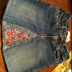 Skirt from jeans