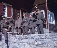 Color Photos of the German Troops During WWII