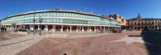 Hoy nos hemos venido hasta la Plaza Mayor de #Almagro en #CiudadReal. Hace #frio pero se está bien al #solete