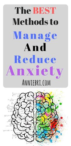 Here are the BEST ways to manage and reduce anxiety. #anxiety #health #tips #healthy