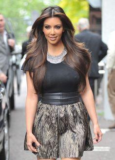 Kim Kardashian hair color!!!