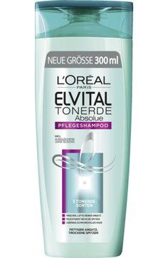 Shampoo Tonerde für normales bis fettiges Haar, 300 ml