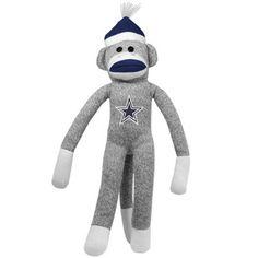 Dallas Cowboys 20'' Team Sock Monkey