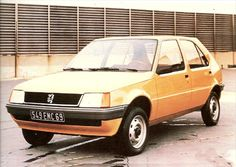 OG | 1982 Peugeot 205 - Project M24 | Full size mock-up. Pininfarina also proposed windows with rounded corners as with his 505 proposal.