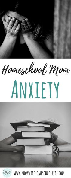 Homeschooling can be stressful! Coping with homeschool anxiety.