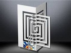 structural paper design cubes kirigami - Google Search