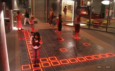 How might technology alter our concepts of the floor? Can we build into to floors wayfinding capabilities? How might this large surface area be a place for the exchange of information?