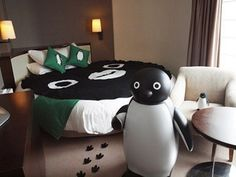 The Suica Penguin Room at Hotel metropolitan - OMG! I wanna be there!!!