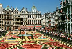 Brussels, Belgium - went there in 2002 and didn't even try a Belgian Waffle!  Will have to next time!