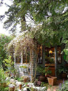 abri, cabane, caravane, couleurs, décor, décoration, espace, invités, jardin, maison, rangements, serre