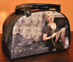 Bolso Cartera Marilyn Monroe Eco Cuero Vintage Diseño Vangua