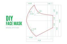 Discover thousands of free-copyright vectors on Freepik mask pattern Easy Face Masks, Diy Face Mask, Pattern Sketch, Pattern Design, Masque Facial Diy, Crochet Mask, Diy Mask, Sewing Patterns Free, Ui Patterns