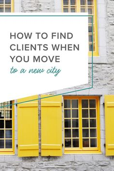 For creative entrepreneurs and freelancers who cater to a local market, moving to a new city can be an exciting adventure... and also, completely anxiety-inducing. That's why in today's post, I'm recapping my own experience of moving to a new city as an early-stage freelancer -- plus, the six strategies I used to get my first clients there.