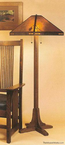 Merveilleux Craftsman Style Floor Lamp By Joeharley | Lamp | Pinterest | Craftsman Style,  Craftsman And Floor Lamp