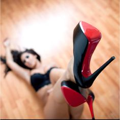 It is my personal opinion that these shoes look better off the ground!!! Lol!!! Designed for bedroom only ;-)