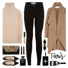 """""""I Love Paris in the Fall"""" by lgb321 ❤ liked on Polyvore featuring New Look, Harris Wharf London, Loro Piana, River Island, J.Crew, SUSU, TravelSmith, NARS Cosmetics and Kate Spade"""