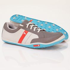 True Linkswear TRUE phx Golf Shoes - Mens Grey/Charcoal/Blue