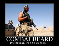 Combat beards