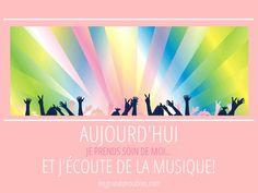 JOUR 4 : J'ÉCOUTE DE LA MUSIQUE! Movie Posters, 30 Day, Take Care Of Yourself, Music, Film Poster, Popcorn Posters, Film Posters, Posters