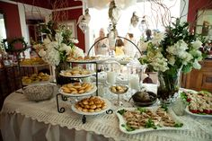 tea party bridal shower   How gorgeous is this Bridal Shower Tea Party submitted to us by 410 ...