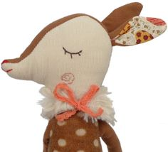 - Description - More Info. - The Brand This lovely deer is beautifully constructed with amazingly thoughtful detail, including a posh neck warmer, soft fabric body and pretty, long dangly legs. Make n