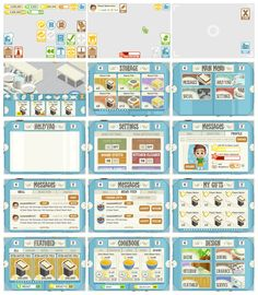 Brian Frederick - Art for Social Games: Restaurant Story