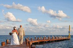 moon palace pier wedding photography