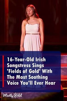 """Irish Songstress Sings 'Fields of Gold' With The Most Soothing Voice You'll Ever Hear"""" Music Sing, Live Music, Gospel Music, Old Irish, Fields Of Gold, Celtic Music, San Fernando, Types Of Music, Beautiful Songs"""