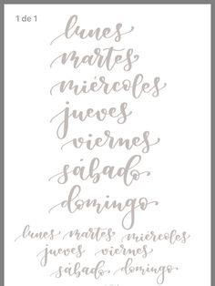 ✩ Check out this list of creative present ideas for coffee drinkers and lovers Brush Lettering Worksheet, Calligraphy Worksheet, Lettering Guide, Hand Lettering Art, Calligraphy Words, Hand Lettering Practice, How To Write Calligraphy, Lettering Tutorial, Hand Lettering For Beginners