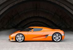 koenigsegg ccr | Power output: 806 bhp at 6.900 rpm  Acceleration: 0-100 km/h (0–62 mph) 3.2 seconds.  Engine: V8 cast aluminium, 4 valves per cylinder, double overhead camshafts. Cam cover of carbonfibre.  Compression: 8.6:1