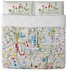 Bedding tells a story - a project: Kajsa Aronsson / IKEA - domplusdom.pl