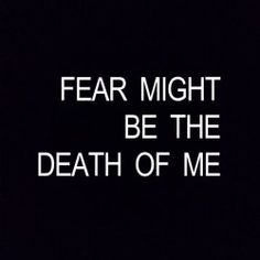 Twenty One Pilots | Blurryface | Doubt | Fear might be the death of me