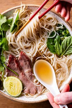 Pho Soup Recipe Easy, Easy Soup Recipes, Cooks Country Magazine, Americas Test Kitchen, Vietnamese Recipes, Kitchen Recipes, Easy Meals, Chinese, Yummy Food