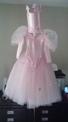 Glinda good witch child costume