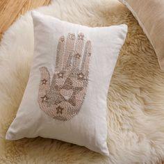 Love Hamsa Pillow