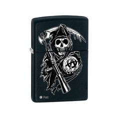Zippo Sons of Anarchy Black Matte Lighter 28504