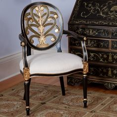 Regency Arm Chair in Fall Winter 2011 from Source Collection on shop.CatalogSpree.com, my personal digital mall.