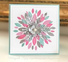 Marybeth's time for paper: Dahlia Turn About